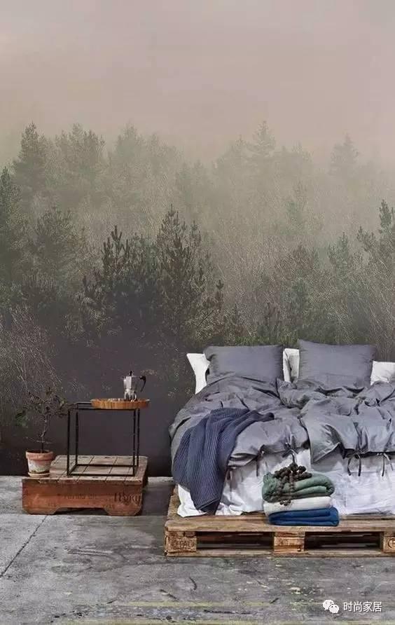 易上手床尾区布置,拯救无聊的卧室