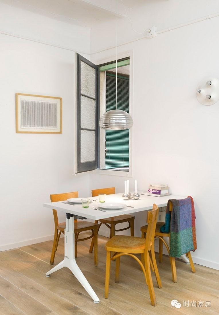 缤纷色块打造70㎡精致小公寓,生活就要多点色