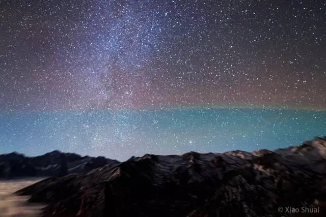 【观测数据征集】11月23日夜的罕见气辉