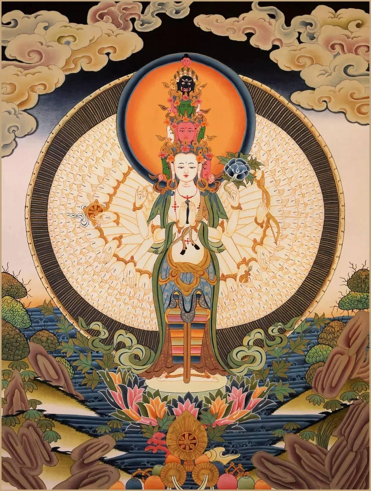 去不了西藏?那就来画最西藏的唐卡