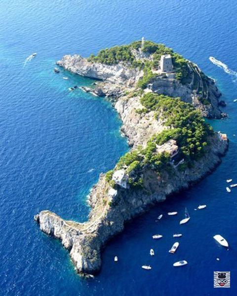 大自然的小心思 世界上最炫酷的海岛