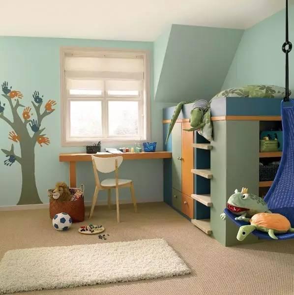 """装修干货之""""家里有娃""""篇丨3招帮你打造健康儿童房"""