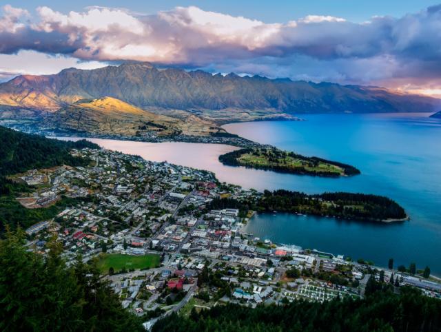 100%纯净的新西兰,这个小镇美到让人觉得只应给皇后居住!