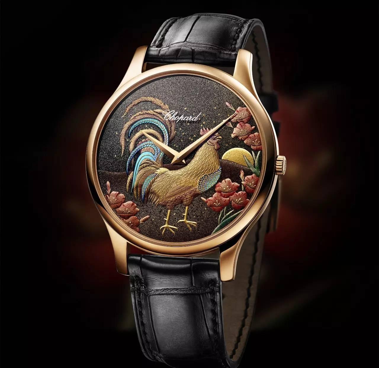 时光计 | 在极致匠心中,感受金鸡图腾与腕表的精妙融合