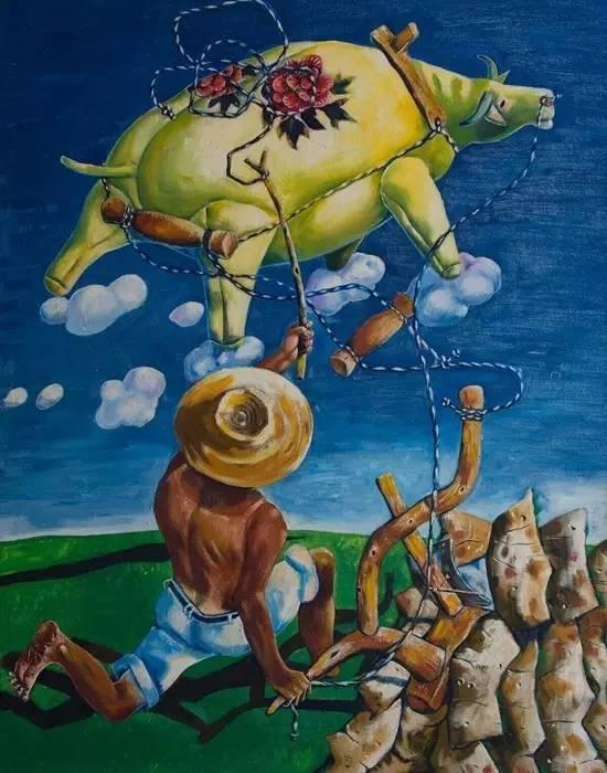 """被骂了20多年,这不务正业的农民却在北京一夜成名。成了中国的""""毕加索"""",让众多大师自愧不如"""