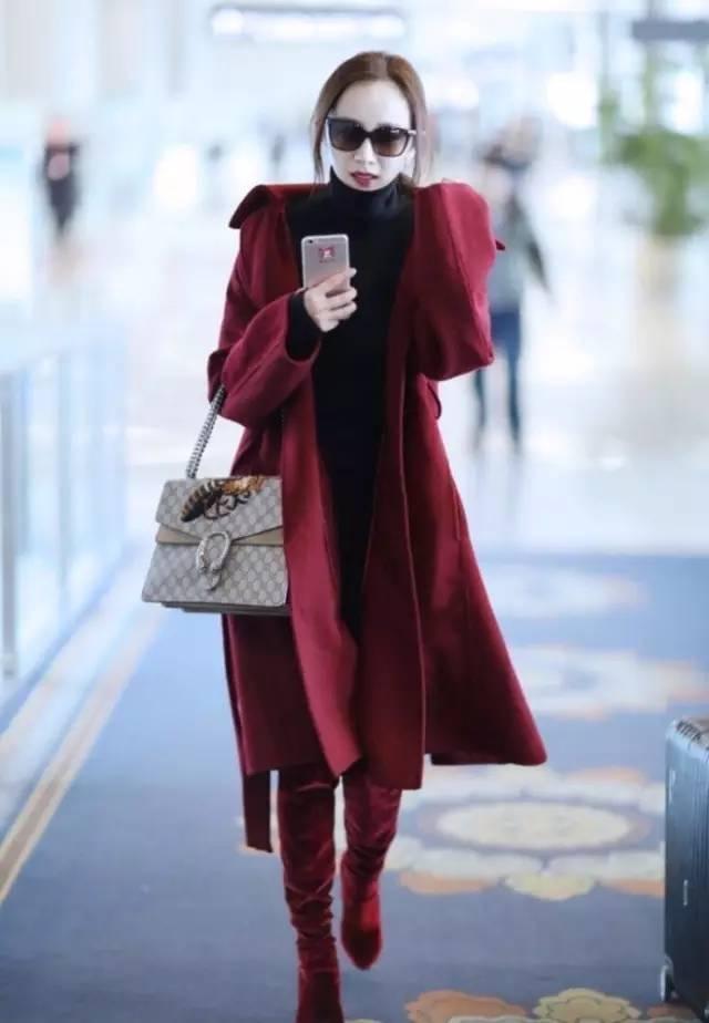 拜年怎么才能把大红穿得不俗气?