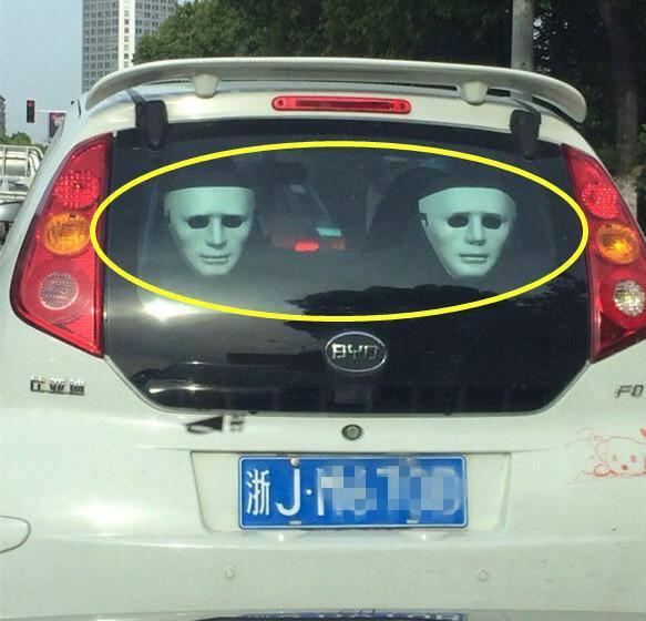 五大神器专治远光狗,把无良司机吓得不敢开车!