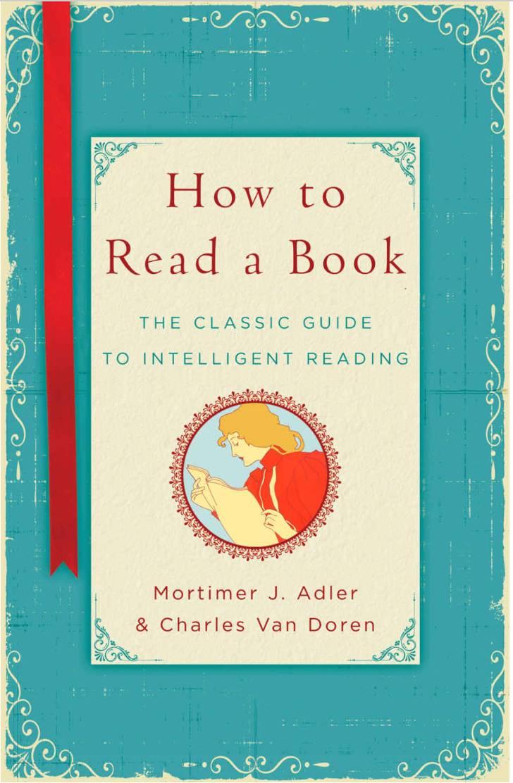 如何读一本书?