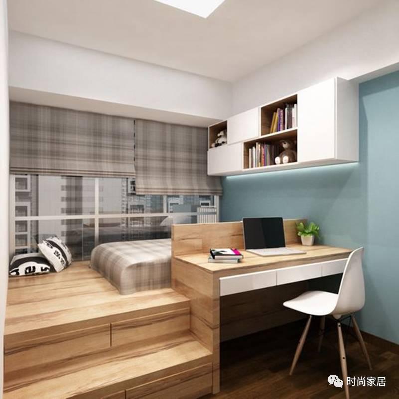 如果只拥有一间小卧室,你会怎么折腾?