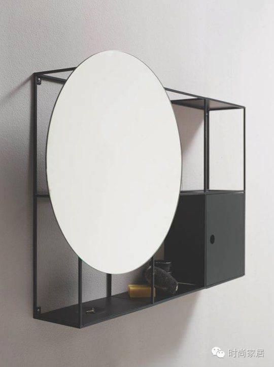 我要的镜子,是自带收纳功能的那种。