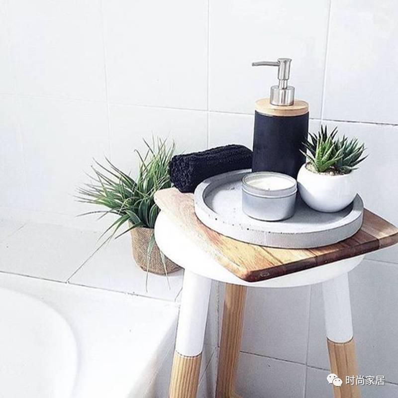 板凳=洗手间置物架?简直太万能