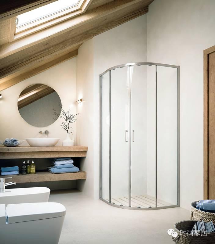 3招淋浴房拯救法,再小的浴室也要好好洗