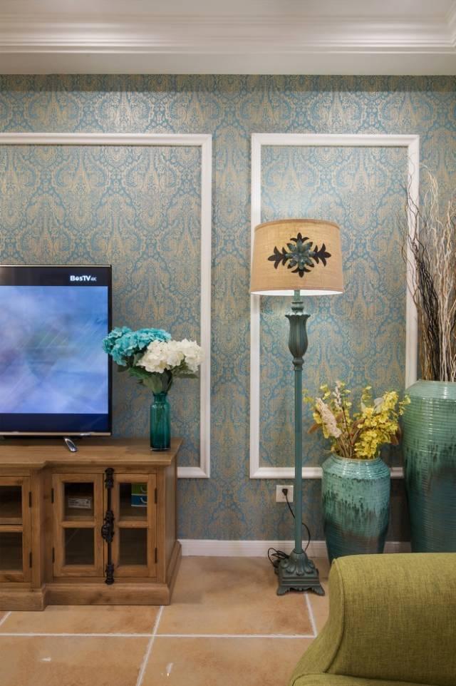 同事家的147㎡美式四居室,美观与实用兼得