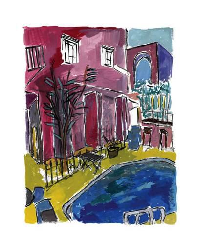 画家鲍勃·迪伦:我是一块滚石,我是一个小镇上的普通人