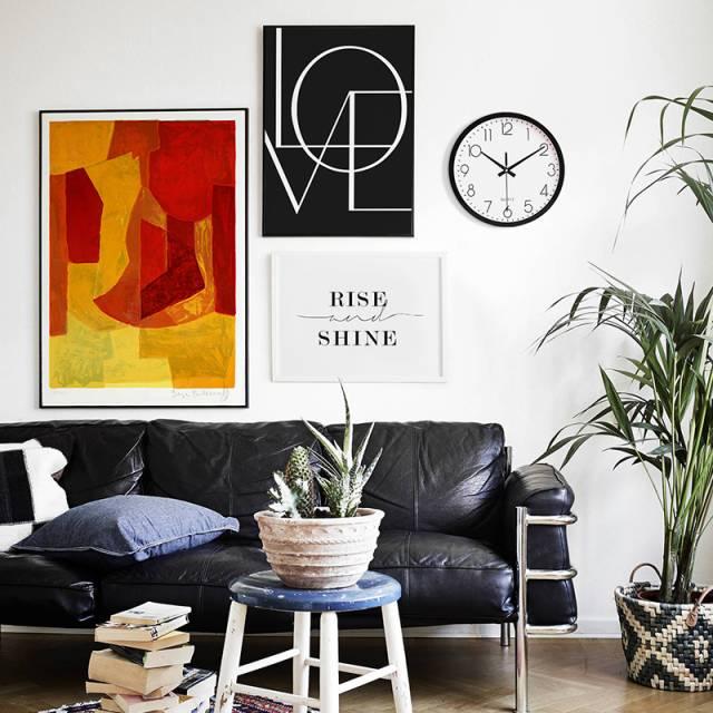 客厅该怎么挂画? 来,设计师教你!