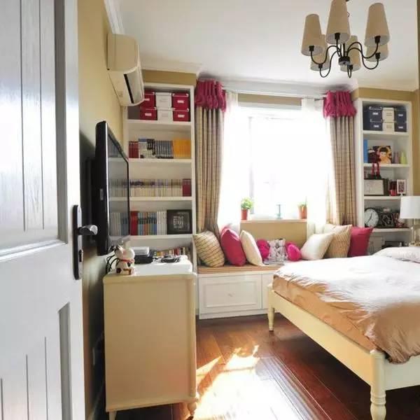 小户型卧室怎么装?30款简约卧室装修案例,不大但很温馨