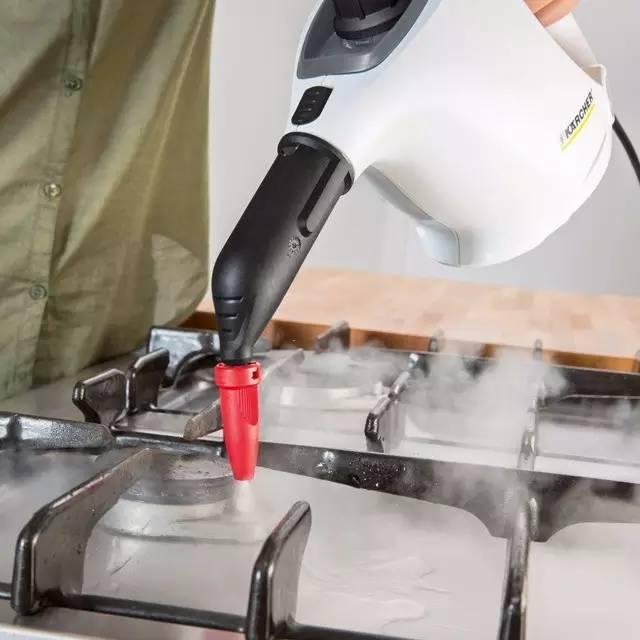 德国清洁神器,用140℃蒸汽清除顽固污垢,看起来超爽的~