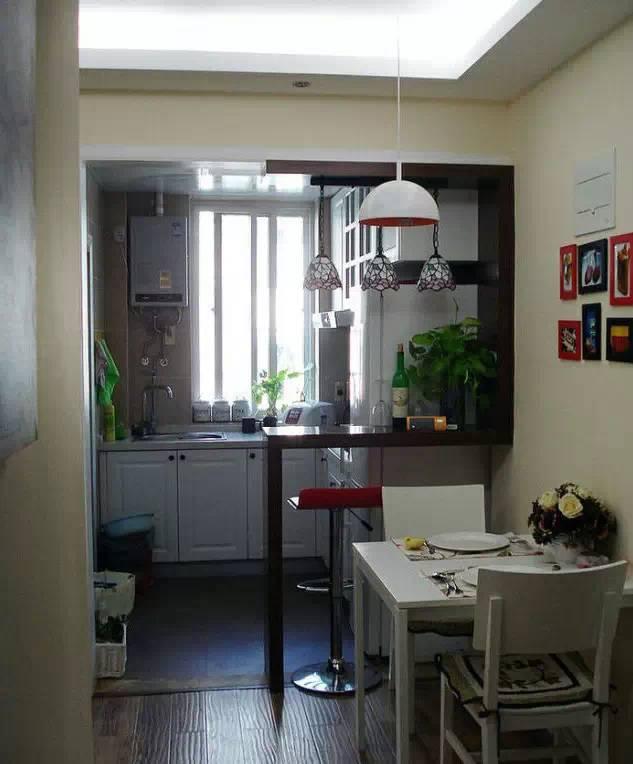 家里装个小吧台,整个家的颜值立马上来了
