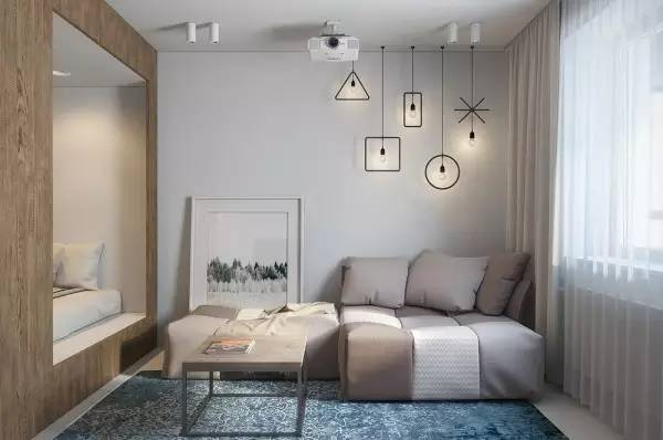 只有29㎡的知性小公寓, 居家功能一样不少, 实在妙!