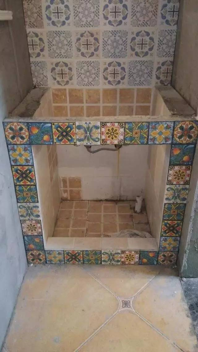 好后悔,原来砖砌洗手台可以这么好看!